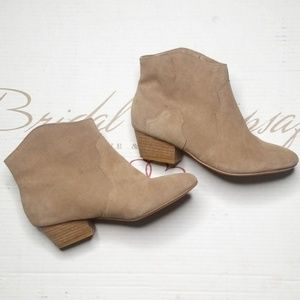Leather Ankle booties Women's size 8